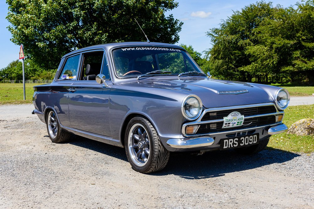 Ford cortina mk1 GT cossy